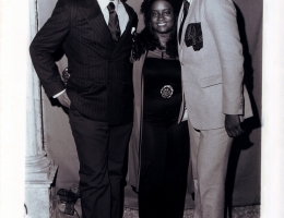 Henry Brewer, Cheryl Wade & Dennis Edwards Of The Temptations 1981