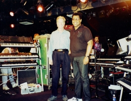 Ralph Grierson & Henry Soleh Brewer On Stage 1996