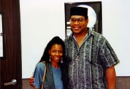 Patrice Rushen & Henry Soleh Brewer Before Our Keyboard Clinic 1998